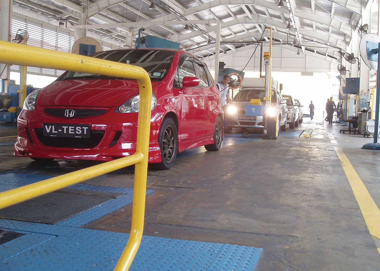 Pti Test Equipment Vlt Vehicle Inspection Stations For Pti